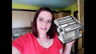 Baixar Lasagne Platten und Nudeln selber machen mit Atlas 150 Nudelmaschine