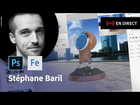 La 3D pour les designers dans le Creative Cloud | Masterclass avec Stéphane Baril | Adobe France