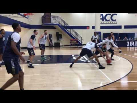 Notre Dame Basketball Practice Highlights: 7/6/17