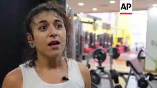 Teenager hailed as Arab world's 1st female pro wrestler