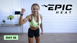 ELECTRIFYING EMOM Full Body HIIT Workout | EPIC Heat  Day 25