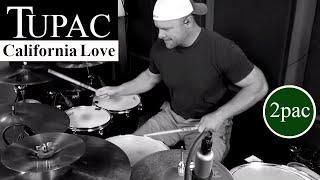 Tupac (2pac) - California Love Drum Cover Video (High Quality Audio) ⚫⚫⚫