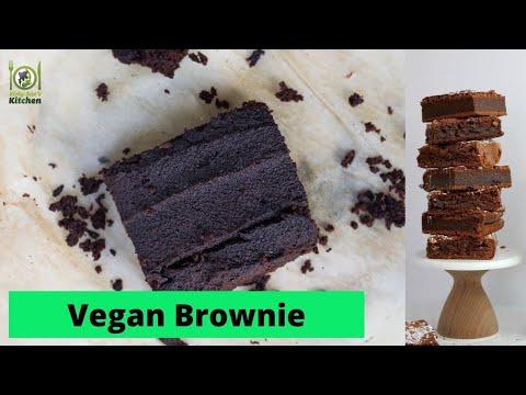 How To Make A Vegan Brownie (really easy to make egg free, dairy free, vegan)