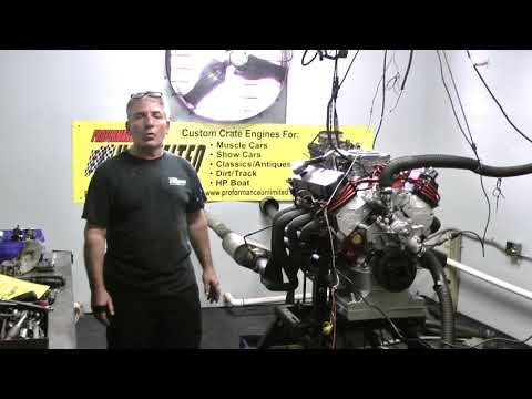 347CI 302 Based 400HP Stroker Crate Engine By Proformance Unlimited