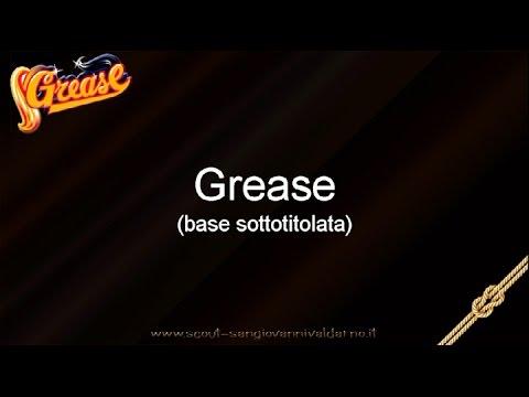 Musical Grease Italiano - testo e voce