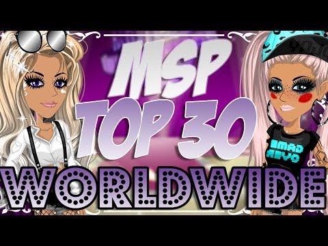 TOP 30 MSP PLAYER WORLDWIDE! 😱💖