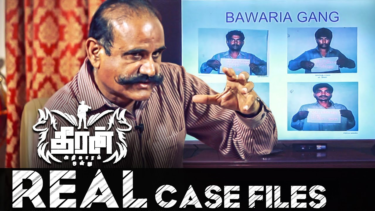 Theeran Real Case Files Revealed! | Mass Hunt for the Bawaria Gang | Jangid IPS
