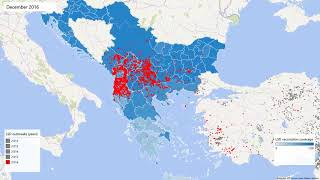 LSD outbreaks and vaccination in South Eastern Europe thumbnail