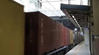 2021.04.10 코레일 동대구역 화물열차 견인 디젤…