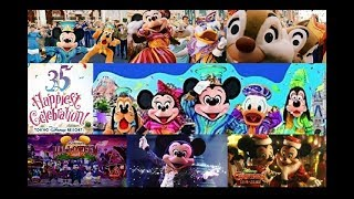 """開園35周年を迎えた東京ディズニーリゾート 35周年""""Happiest Celebratio..."""