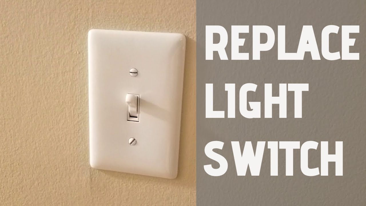 How To Replace A Single Pole Light Switch
