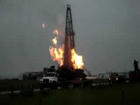 Taladro de perforación de los chinos CNPC (GW-59) Ardiendo