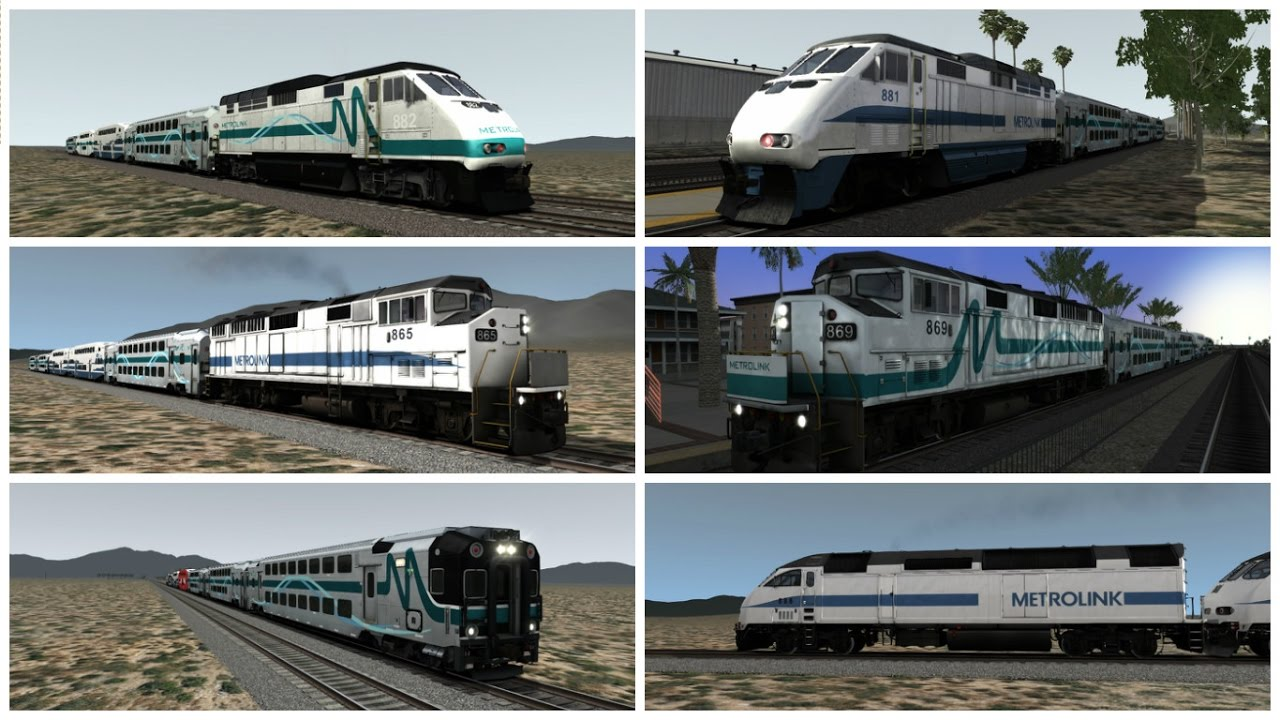 Metrolink Compilation Railworks