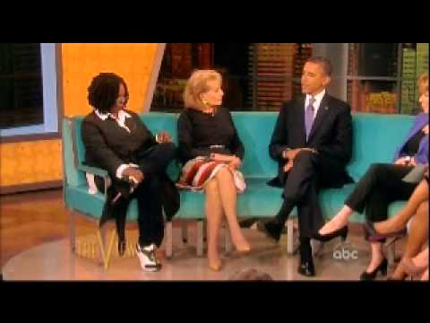 President Obama on 'The View ' (5/15/2012) (part 1)