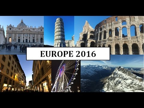Treasures of Europe  - Travel Vlog | PriyankaPansora