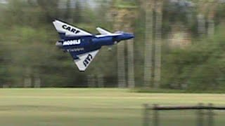 RC Jet J10 with Thrust Vectoring - Amazing 3d and hovering Markham Park