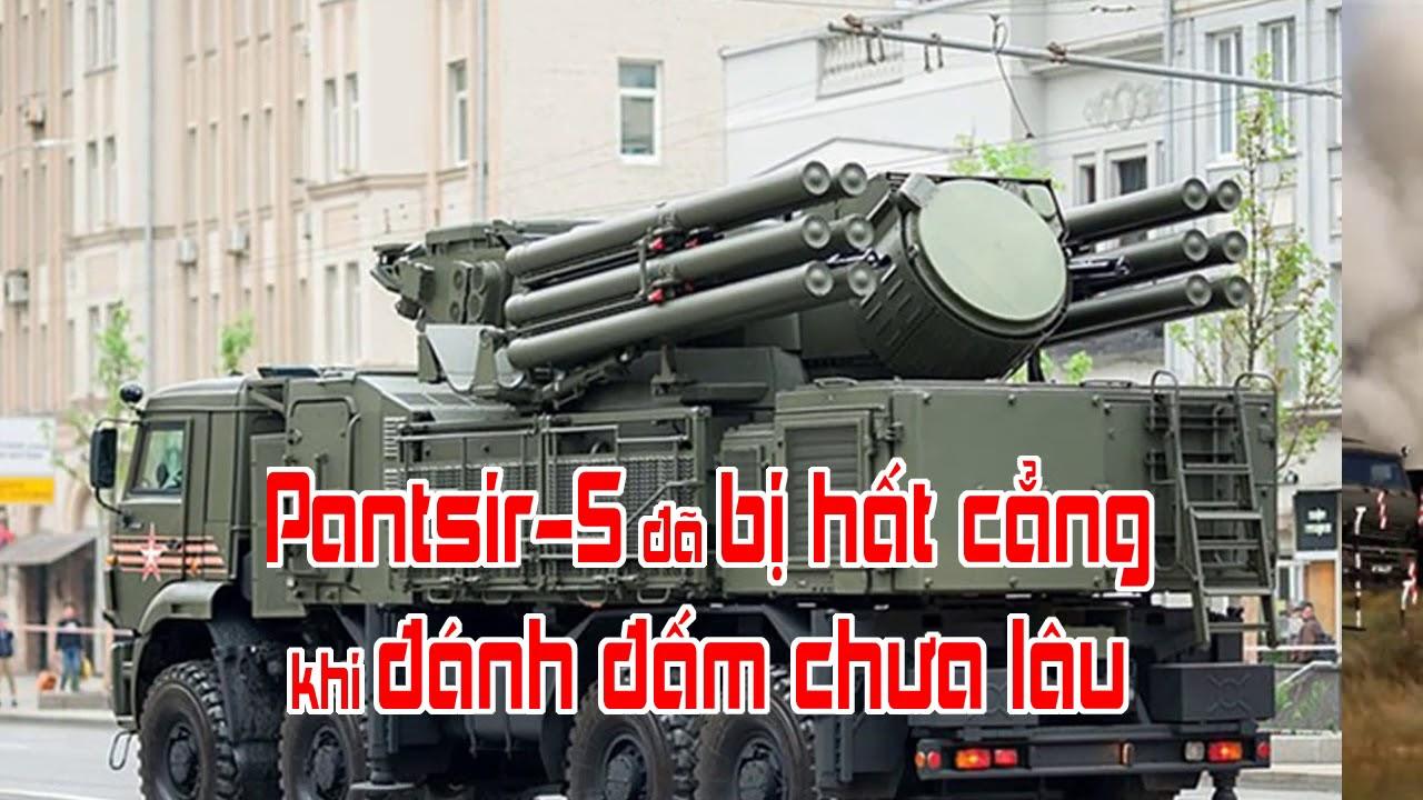 Pantsir S đã bị hất cẳng khi đánh đấm chưa lâu
