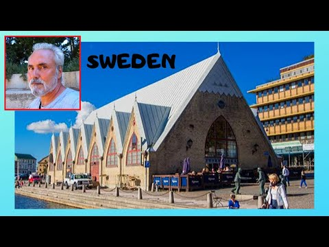 SWEDEN: The historic FISH MARKET of FESKEKORKA in GOTHENBURG