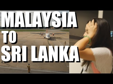 Traveling to Colombo, Sri Lanka - LONG TRAVEL DAY