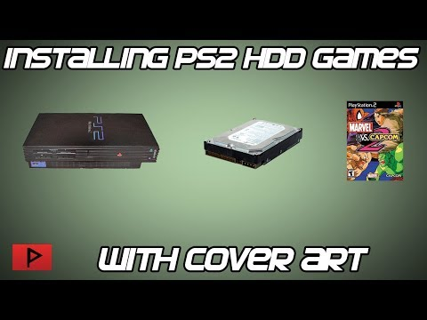 How To Install Cover Art for Fat PS2 Installed Games and OPL