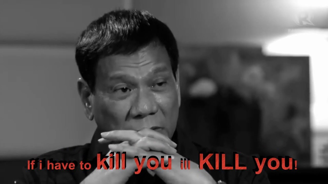 Image result for Duterte's with Criminals