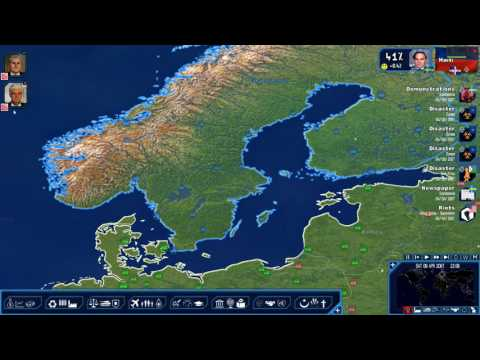 Geopolitical simulator Power & Revolution 4 - A new world 2067 AD