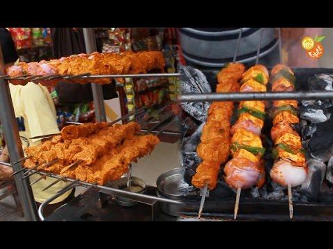 Street food india - Soya Chaap/Paneer Tikka - Indian ...
