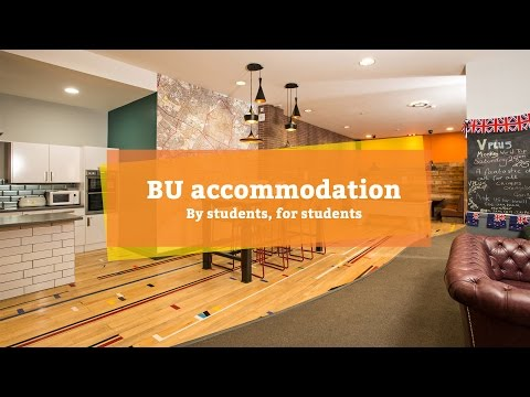 BU accommodation - by students, for students