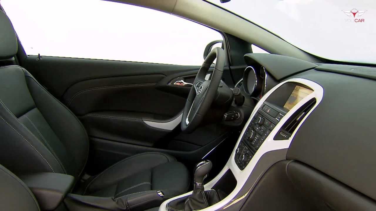 2012 opel astra gtc interior youtube