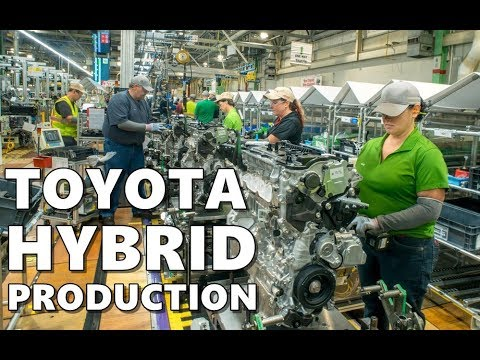Toyota Hybrid Powertrain Production at Kentucky Plant