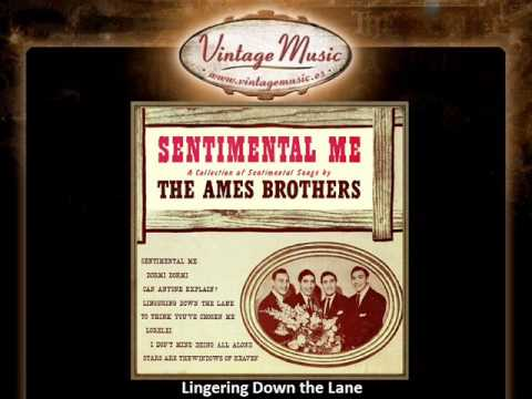 The Ames Brothers -- Lingering Down the Lane (VintageMusic.es)