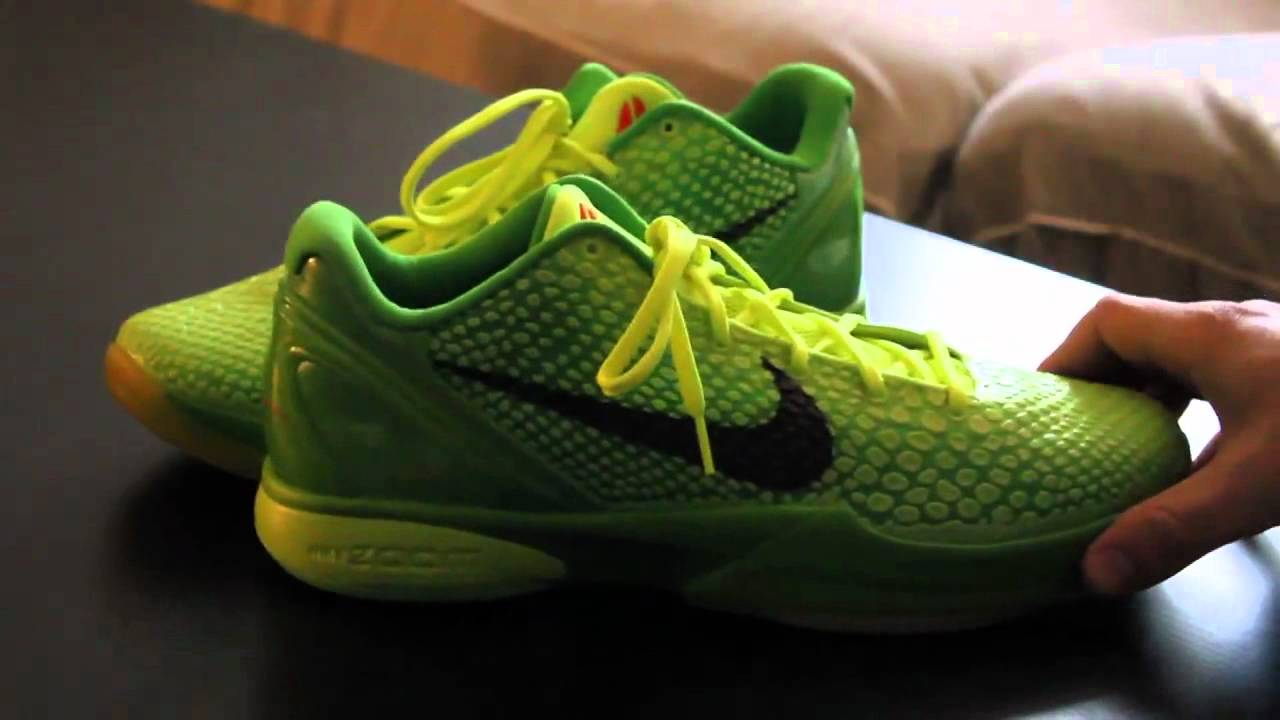 Nike Zoom Kobe VI 6 (Grinch) Review/Unboxing