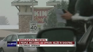3 killed, including officer, in Colorado Springs Planned Parenthood shooting