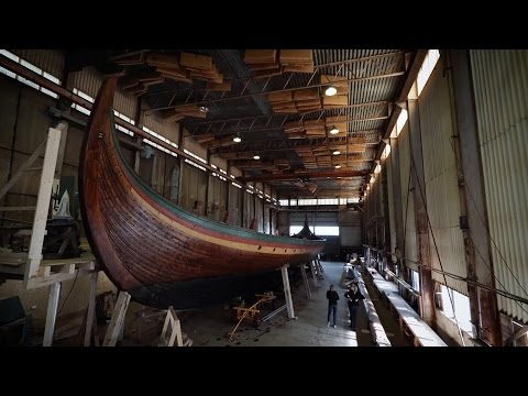 Maintenance onboard Draken summer 2015
