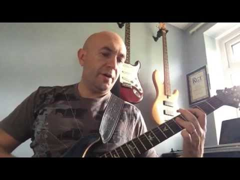 How to play Hit me with your rhythm stick on guitar