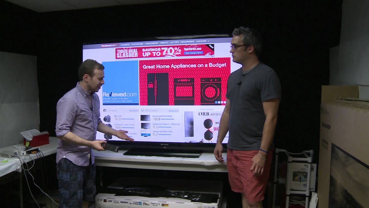 Who needs an 80-inch TV? - YouTube