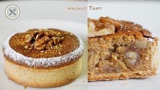 Walnut Tart –Bruno Albouze –THE REAL DEAL