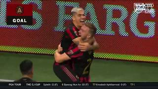 What a hit! Atlanta United's Franco Escobar wins playoff game with this venomous strike!