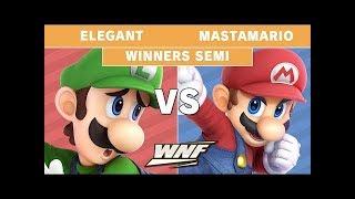 WNF 3.6 Elegant (Luigi) VS MastaMario (Mario) - Winners Semi Finals - Smash Ultimate