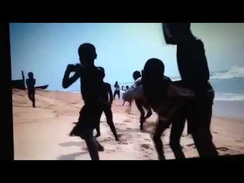 Kids playing at the beach - Togo / West Africa