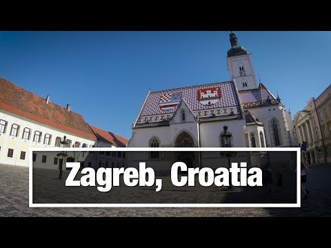 City Walks:  Zagreb, Croatia