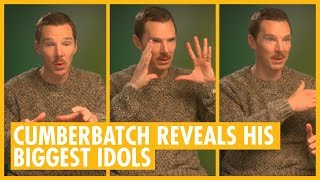 Benedict Cumberbatch Meets His Idols - See How He Reacted - The Grinch