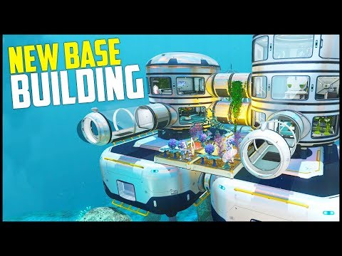 NEW BASE BUILDING! - Subnautica Full Release Gameplay #9