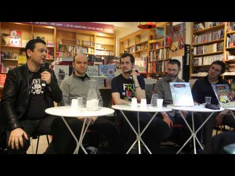 Donjon - Interview de Alfred, Mazan, Joann Sfar et Lewis Trondheim