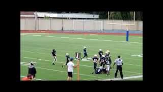 Jaiden Munroe 2013 Etobicoke Eagles Highlight Tape. 9 Year Old Canadian Football Star