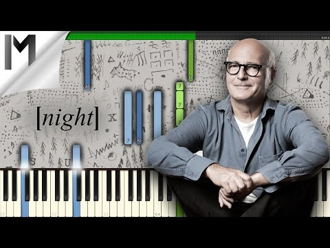 Night ~ Ludovico Einaudi ~ ORIGINAL Piano Tutorial [MIDI/Synthesia]