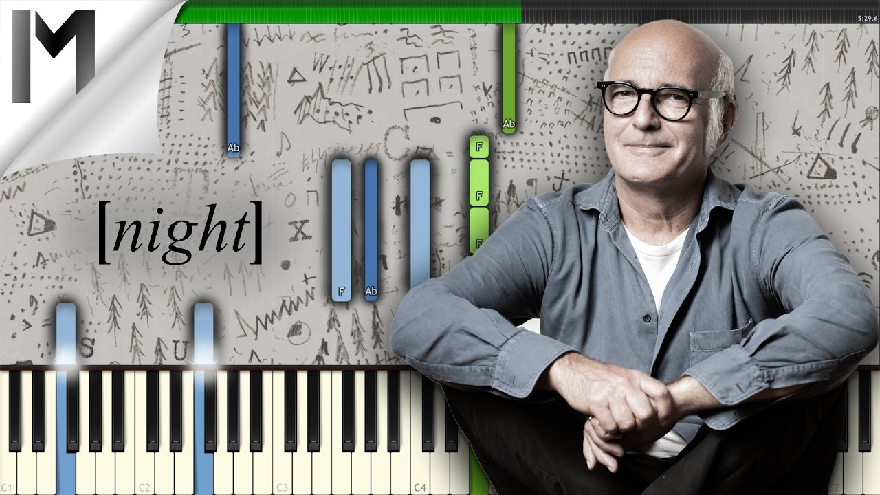 Night Ludovico Einaudi Original Piano Tutorial Midisynthesia