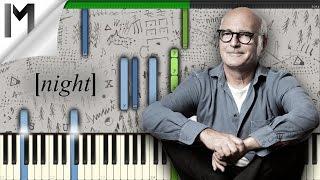 Night ~ Ludovico Einaudi ~ ORIGINAL Piano Tutorial [MIDI/Synthesia]