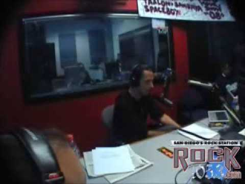 Chris Cornell talks about Timbaland at The Mikey Show Rock 1053 San Diego California KIOZFM