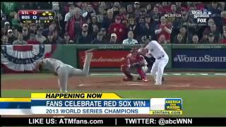 ▶ Boston Red Sox Fans Celebrate 1st World Series Victory At Home since 1918!